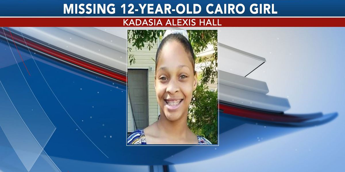 UPDATE: Missing 12-year-old girl from Cairo found safe