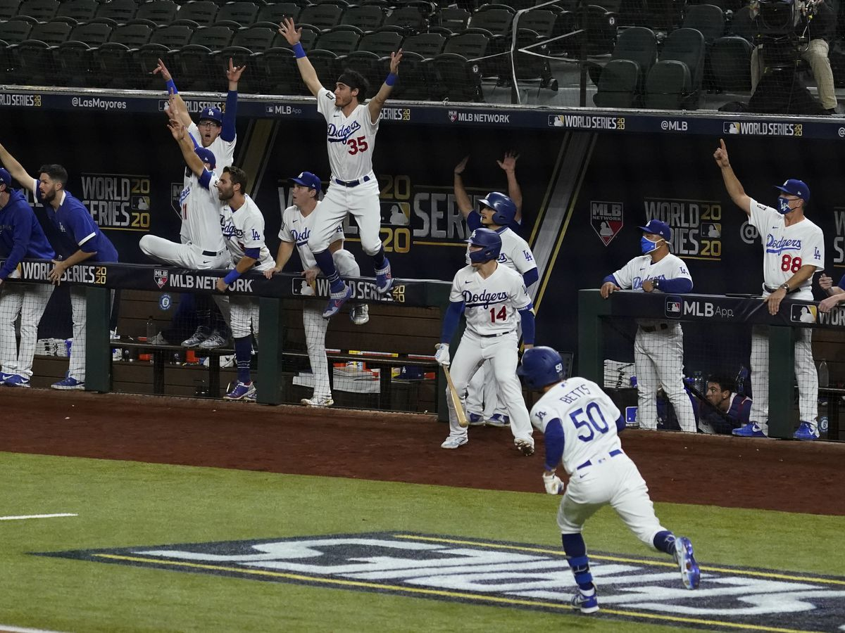 Dodgers win 1st World Series title since 1988
