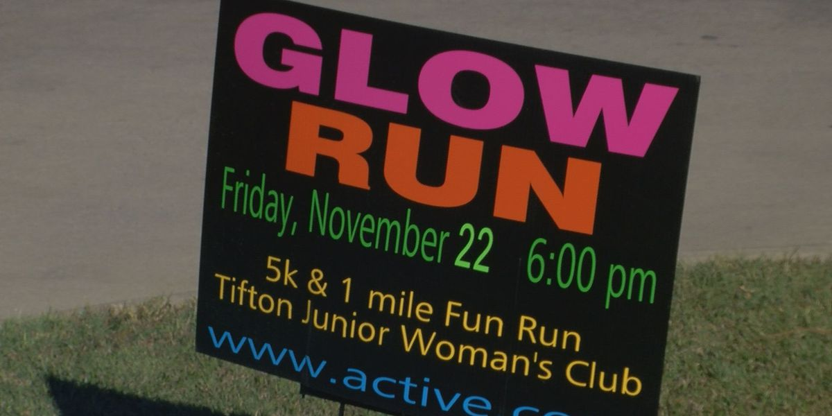 Tifton Junior Woman's Club presents 'Glow Run'