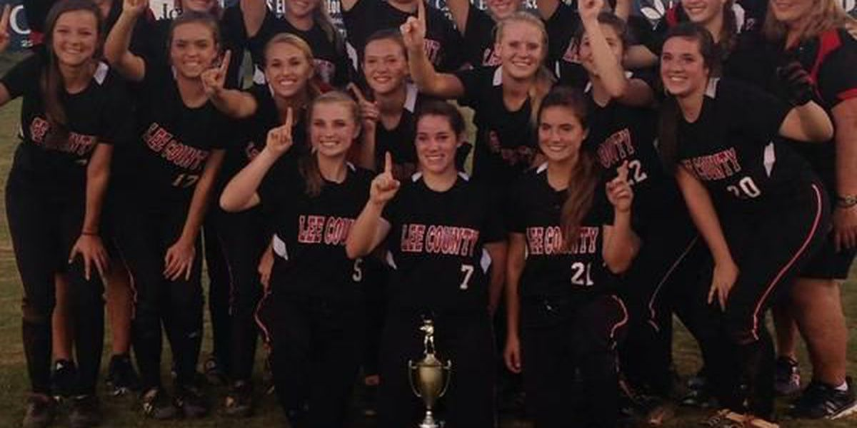 Lee Co., Worth Co. win region softball titles