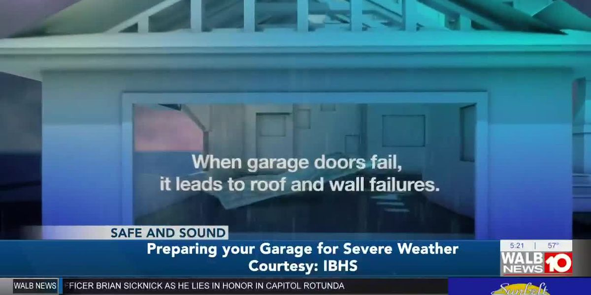 Safe and Sound: Preparing your garage for severe weather