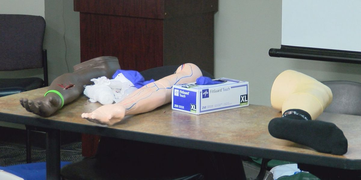 APD officers get life-saving training