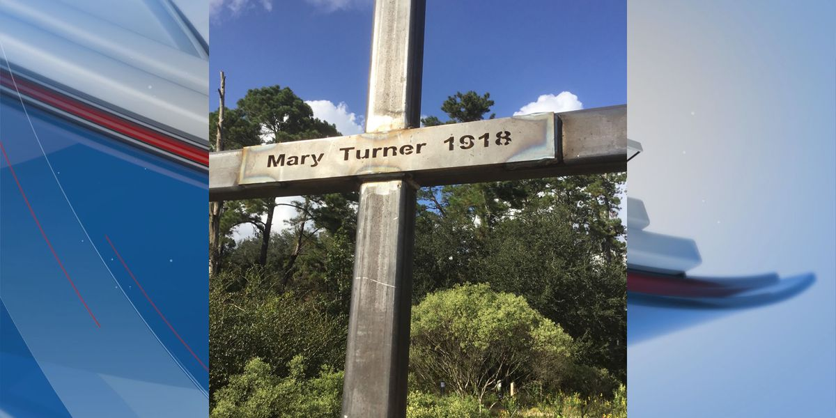 Mary Turner lynching marker temporarily replaced