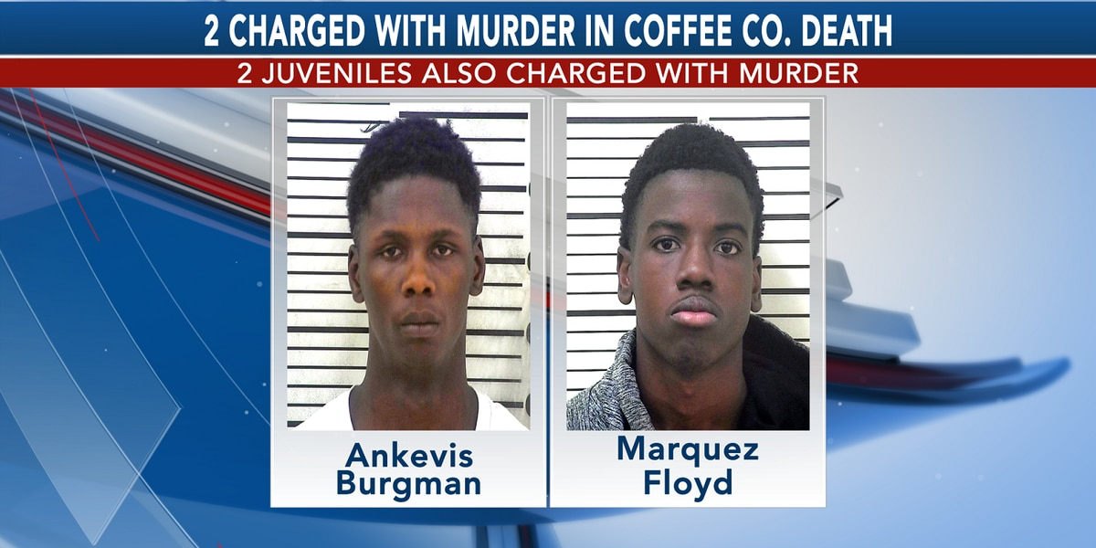 GBI: 4, including 2 juveniles, charged with murder in Coffee Co. death