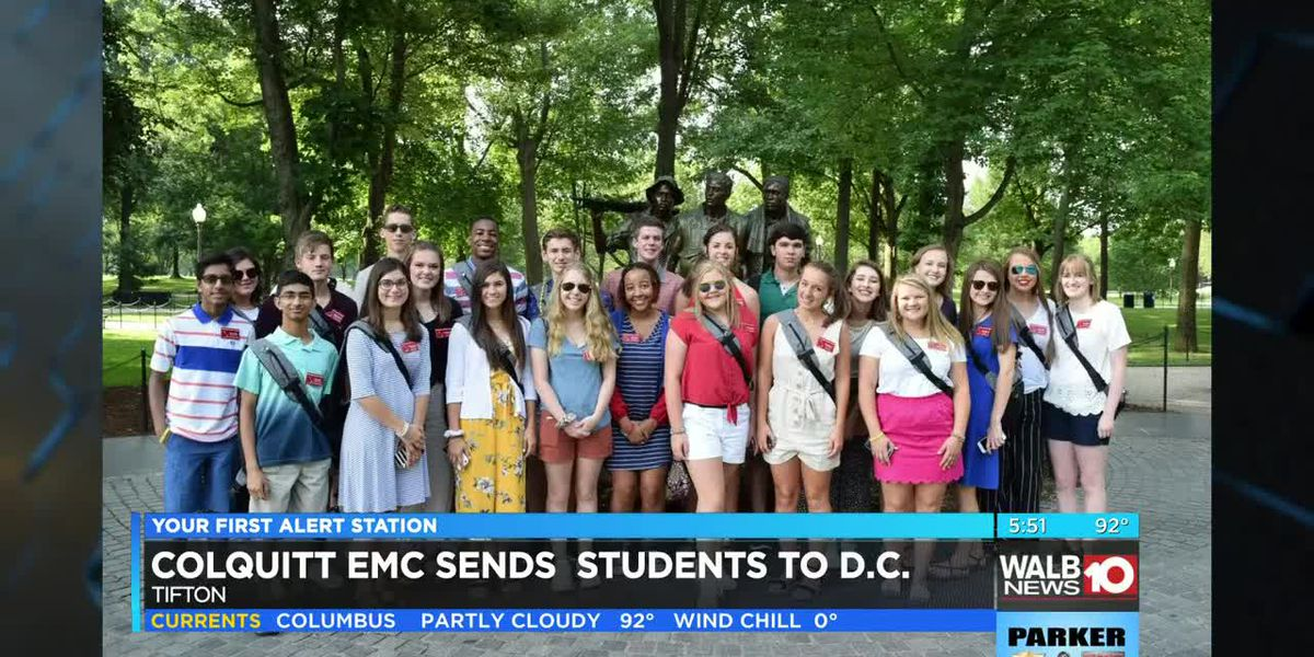 Tift Co. students rub elbows in D.C.