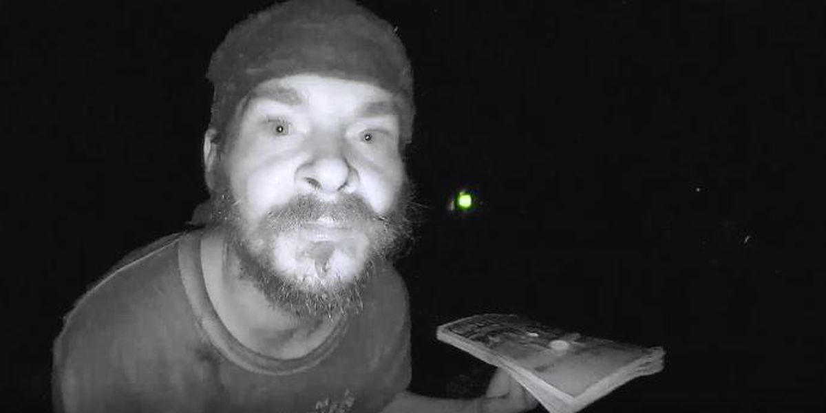 Florida man caught on camera licking doorbell