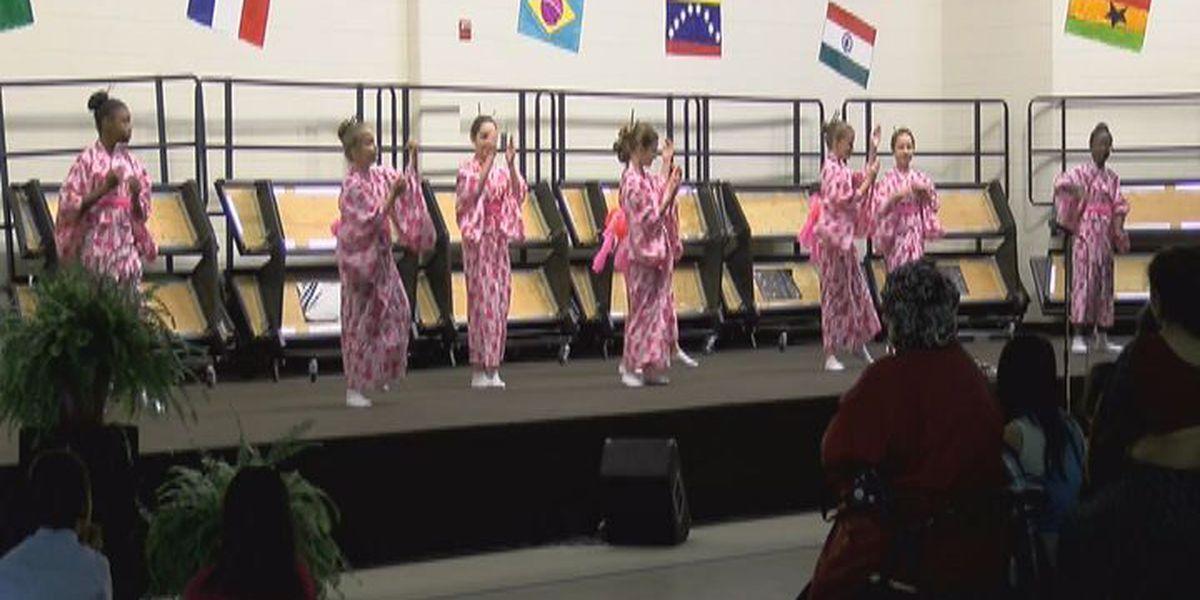 Sallas Mahone Elementary celebrates cultural diversity
