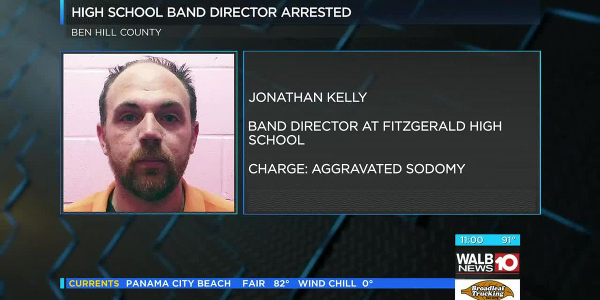 Update: Fitzgerald High band director arrested