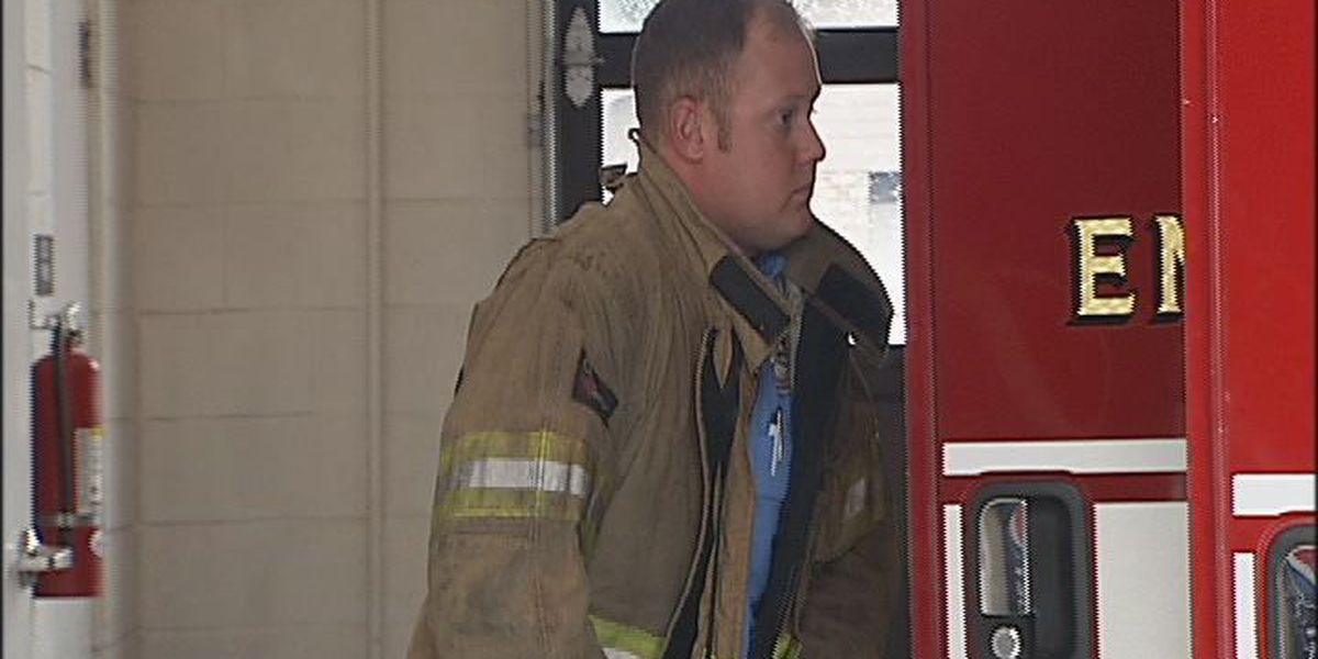 David Smith honored as Firefighter of the Year