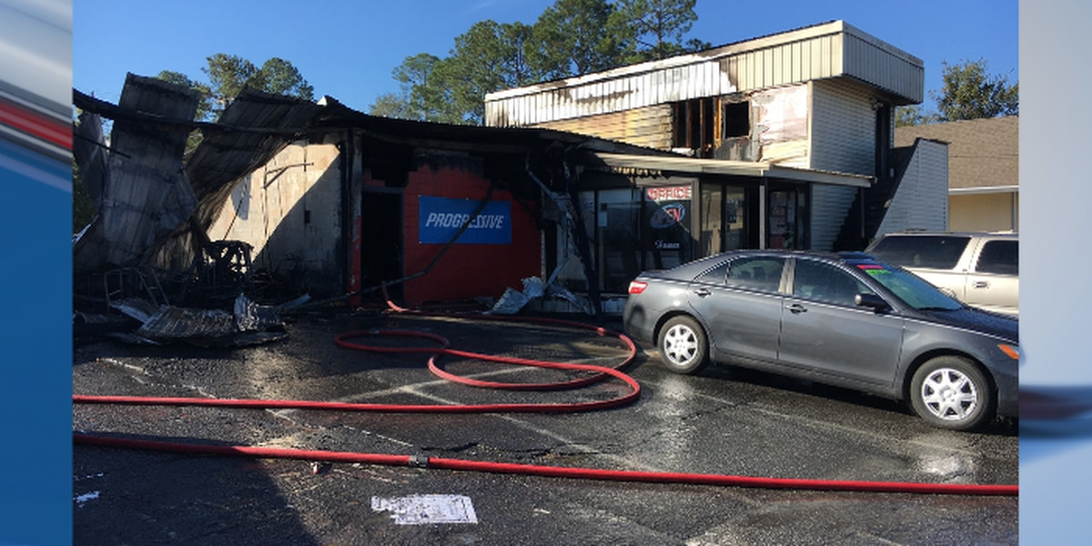 UPDATE: Albany car dealership structure fire investigated