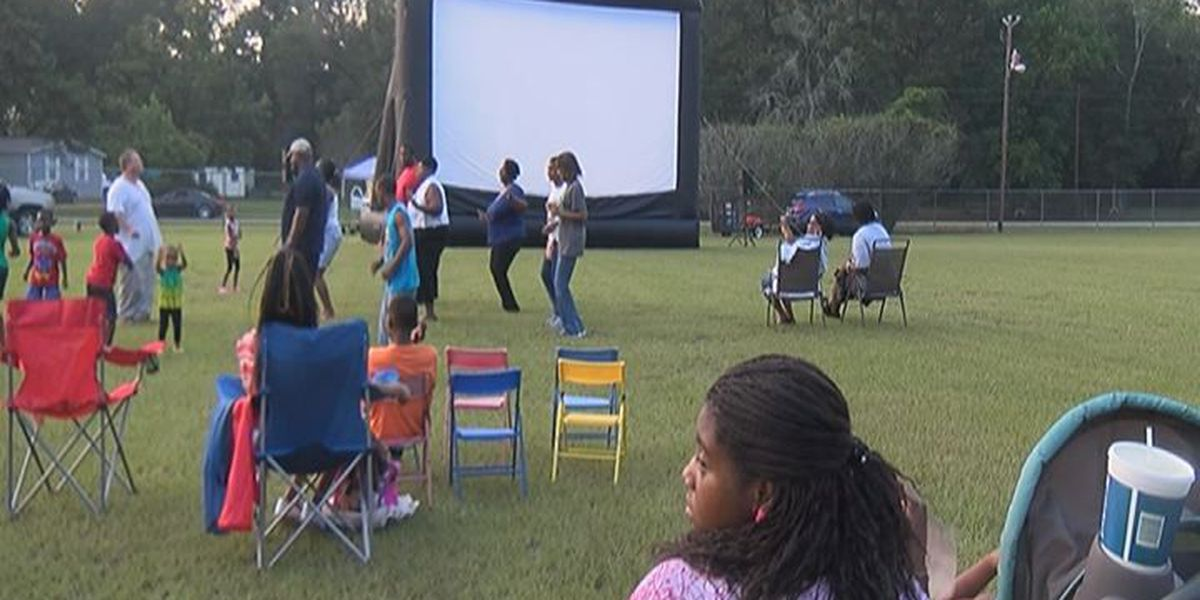 Families enjoyed free church movie night