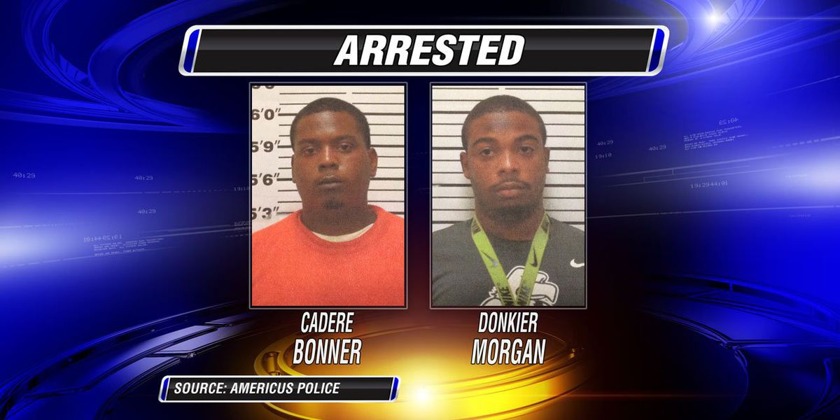 Two charged in Americus armed robbery