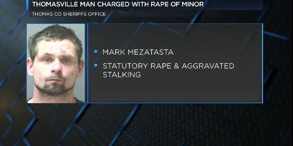 Thomasville man facing rape, aggravated stalking charges