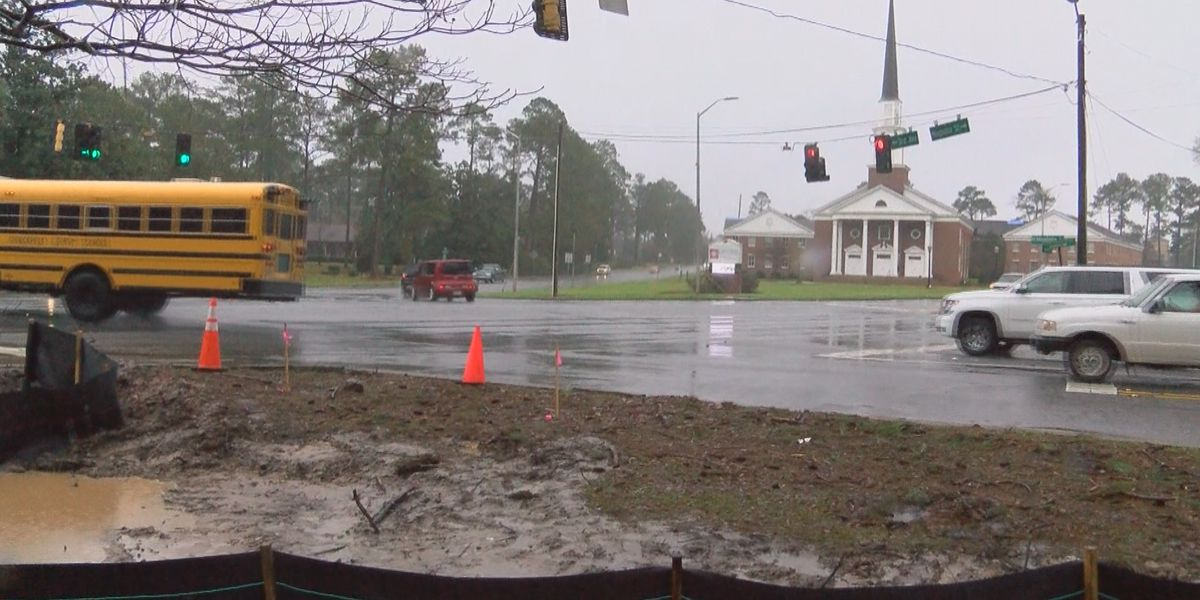 Renovations underway at Dawson Road intersection in Albany