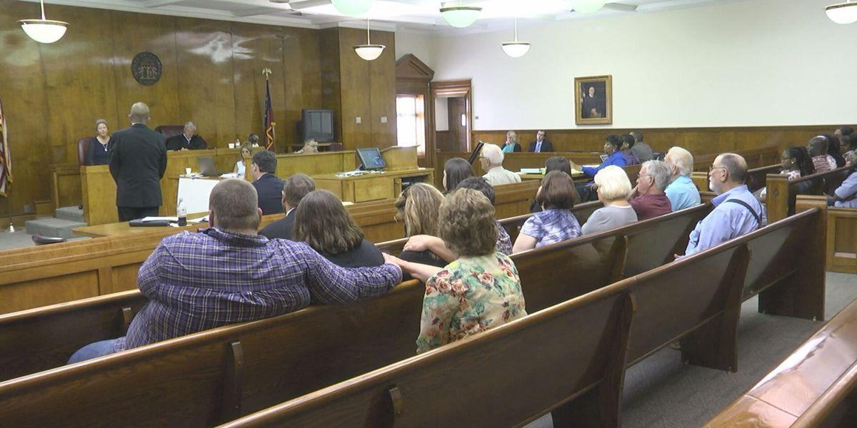 Norman Park murder trial: Day 1