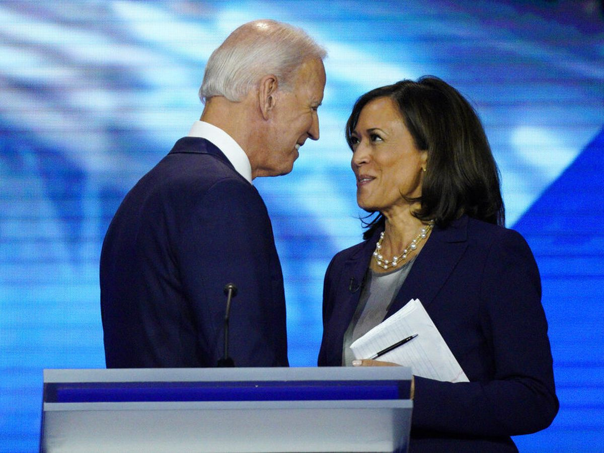 Biden, Harris lash Trump in introduction of historic VP pick