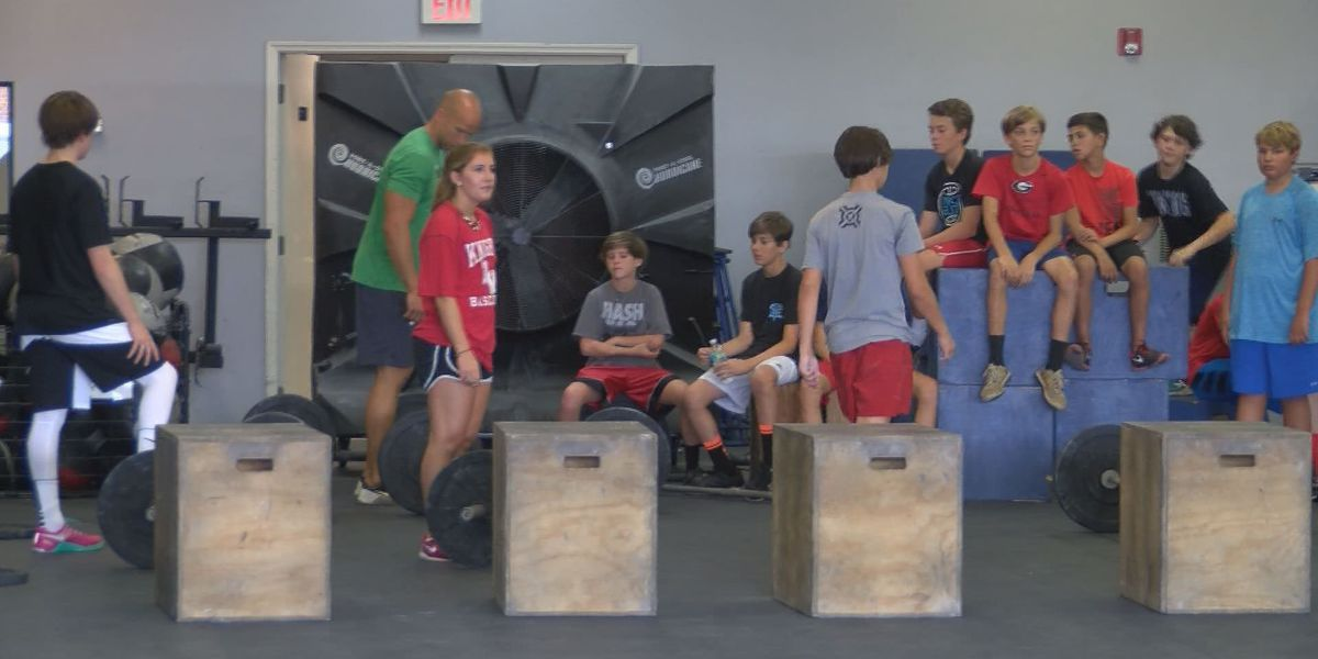 Summer camp teaches kids the basics on weightlifting