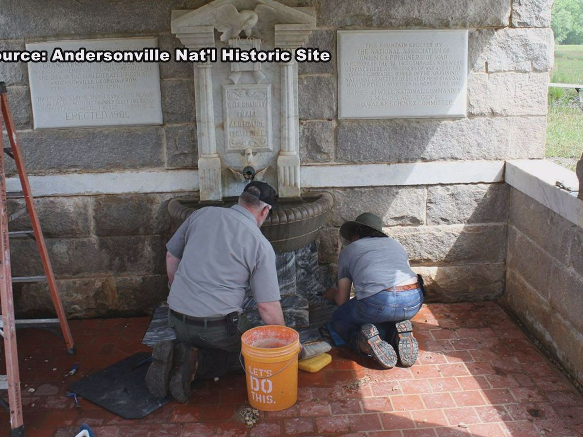 Preservation work ongoing at Andersonville National Historic Site