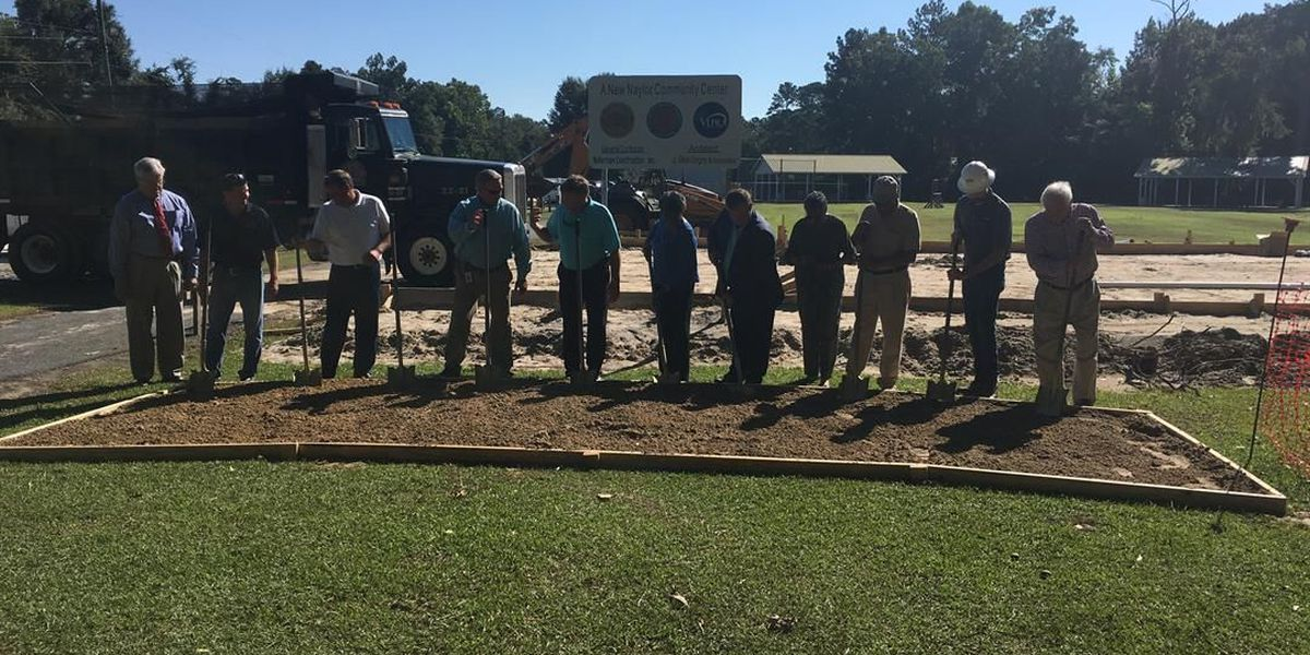 Lowndes Co. leaders break ground on new community center in Naylor