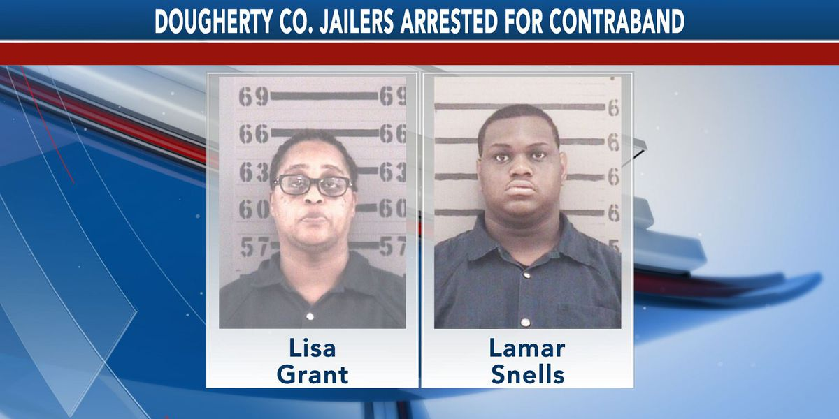 2 Dougherty Co. jailers arrested for contraband