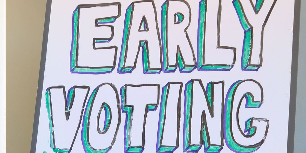 Early voting in state, Worth Co. rises