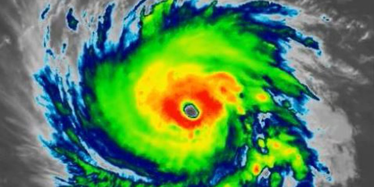 Watch Hurricane Florence come ashore on live cams along the East Coast