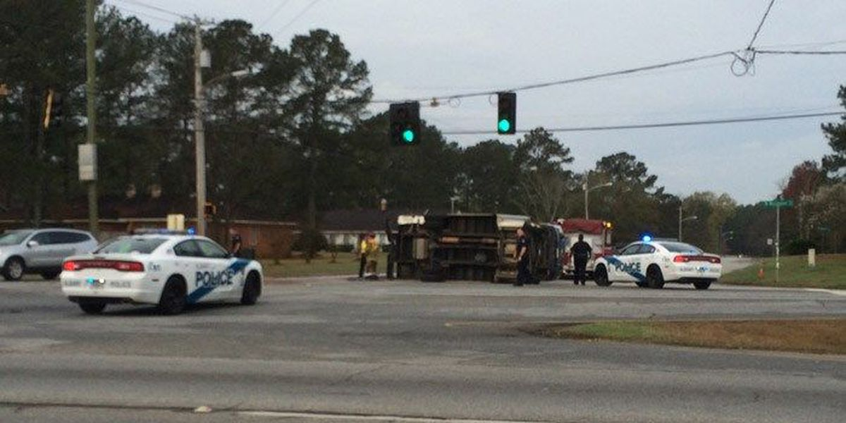 Westover Blvd. blocked by accident