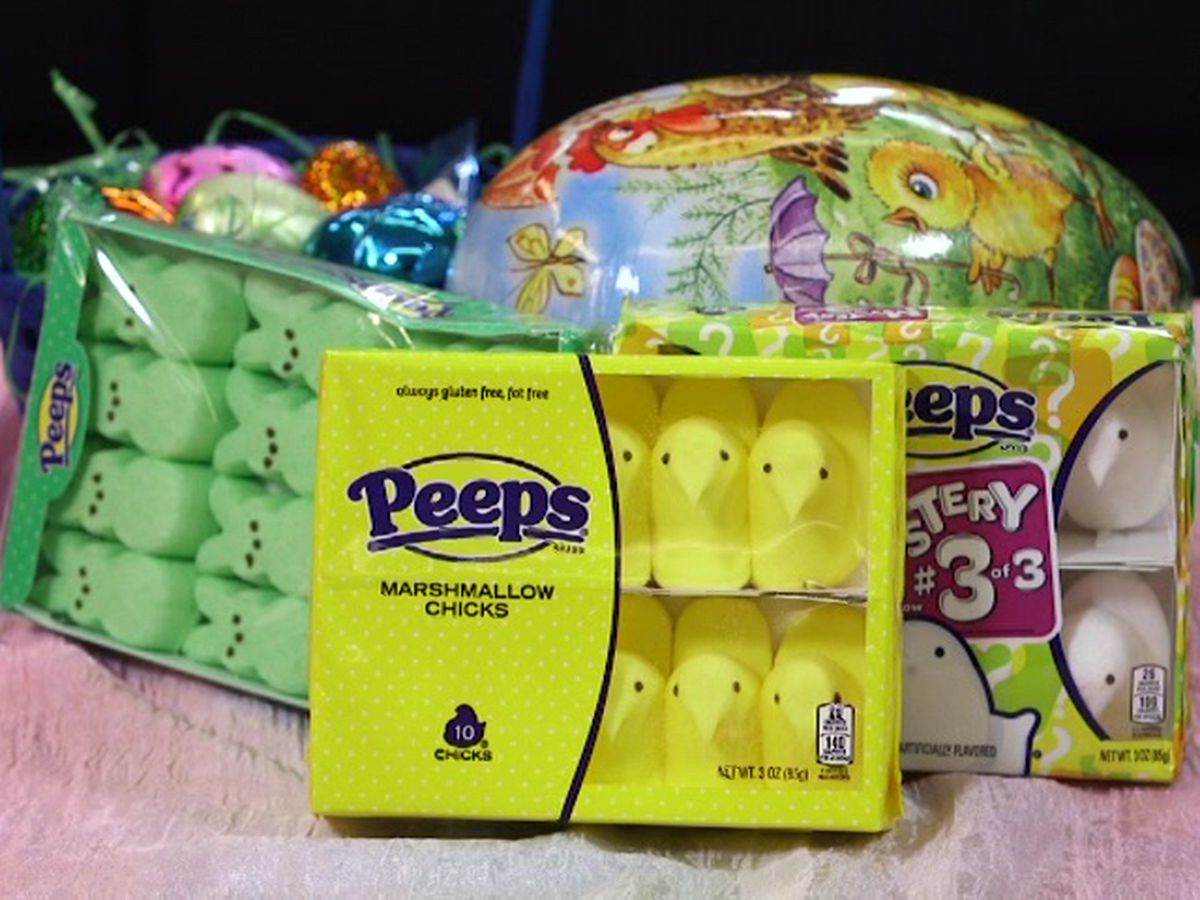 Peeps production stops, but Easter is taken care of