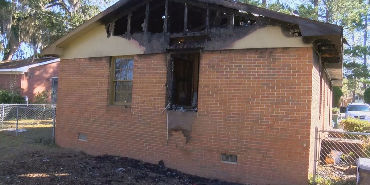 Valdosta house fire caused by space heater