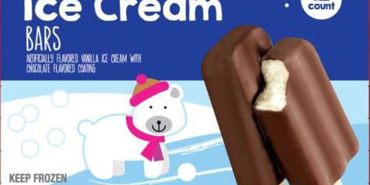 Ice cream bars recalled over possible Listeria concerns