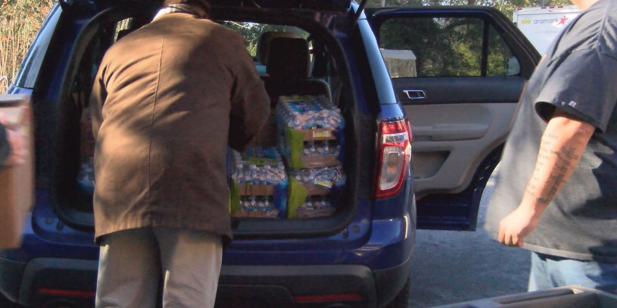 Albany State donates meals to storm victims