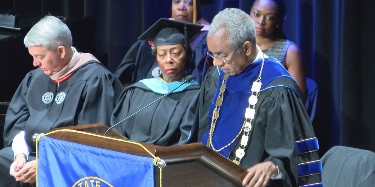 Albany State University holds investiture ceremony