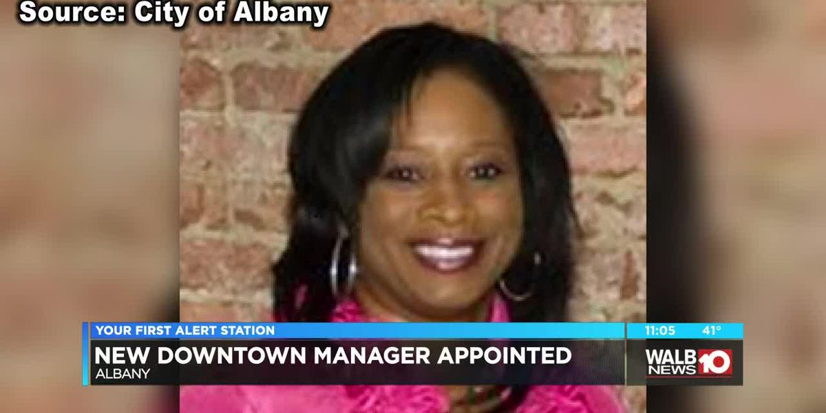 New downtown manager appointment