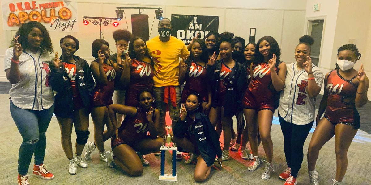 Westover High dance team wins local talent show