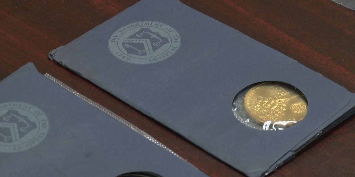 Historic coins for sale at Sheriff's auction