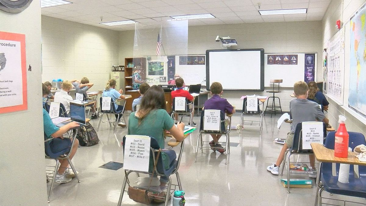 Deerfield-Windsor resumes face-to-face classes for new school year