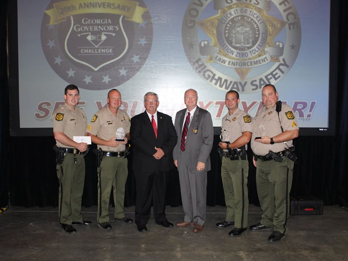 Crisp Co. Sheriff's Office recognized in Governor's Challenge