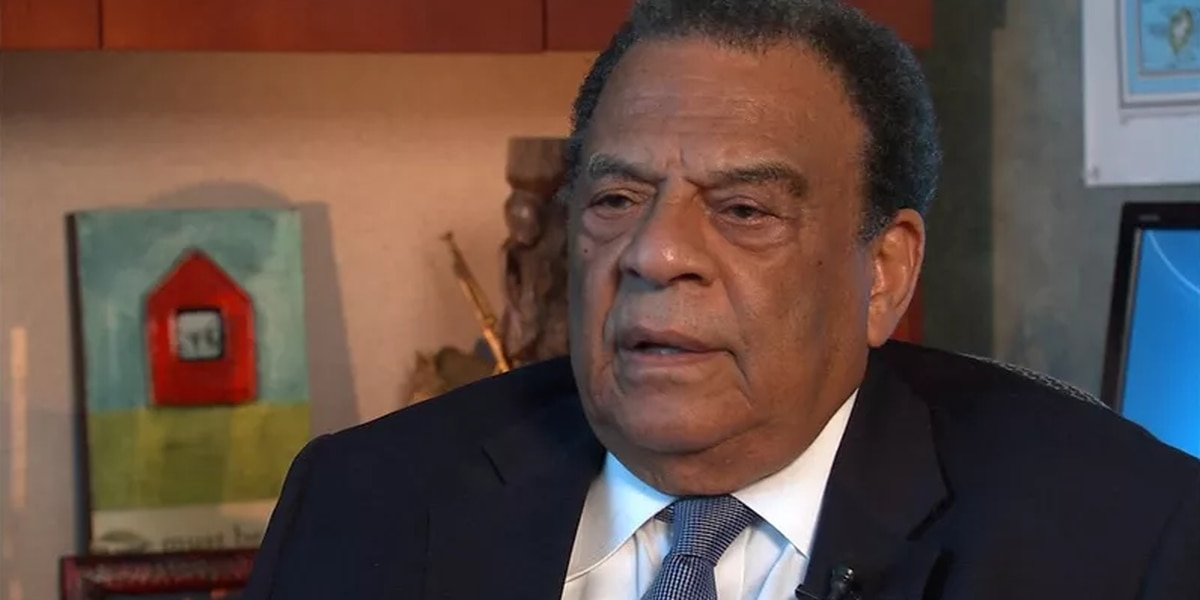 Civil rights activist Andrew Young hospitalized with illness