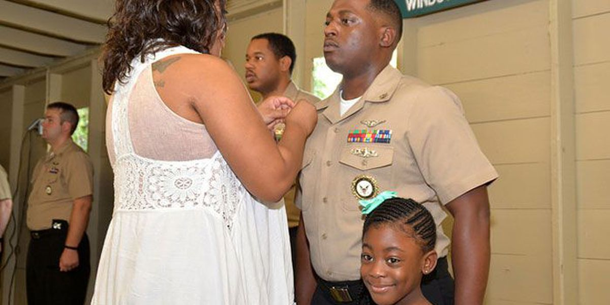 Navy man from Albany is promoted