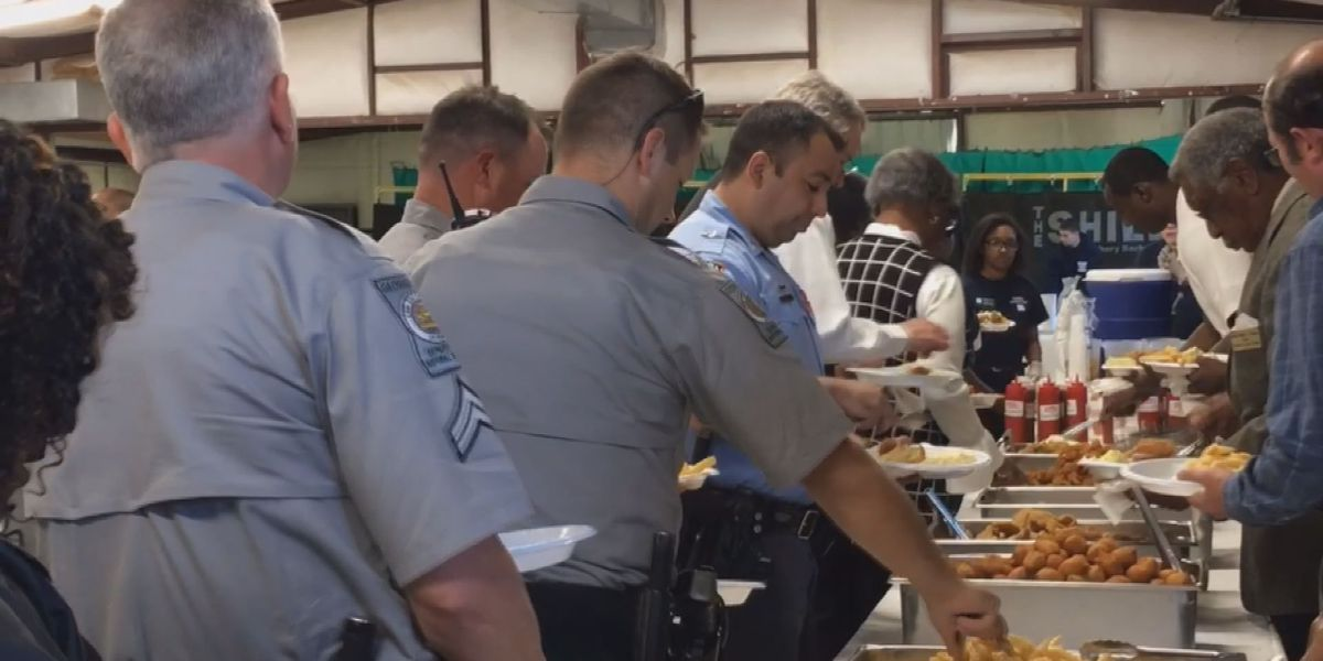 Terrell Co. SO hosts first responders appreciation dinner for surrounding agencies