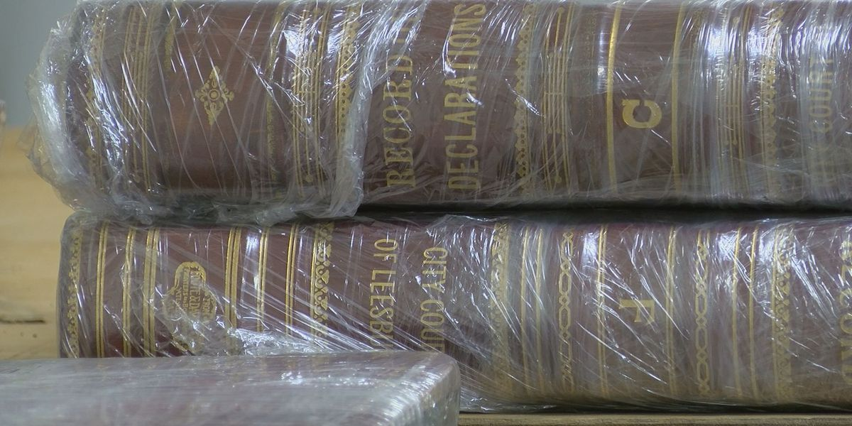 Decades old Lee Co. historical records have new home