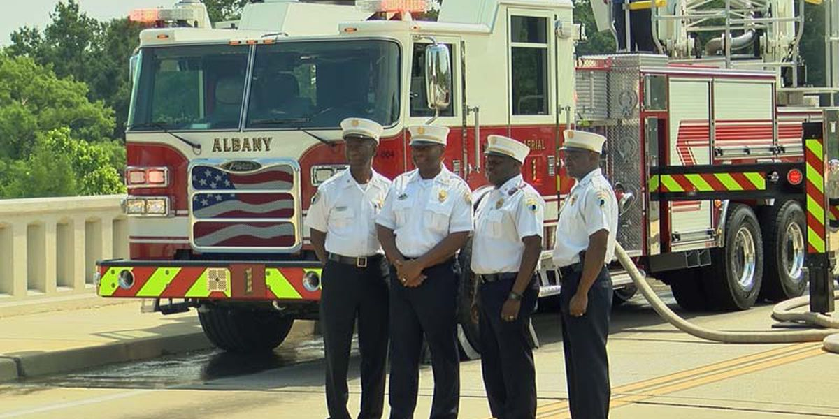 Albany Fire Department receives new fire trucks