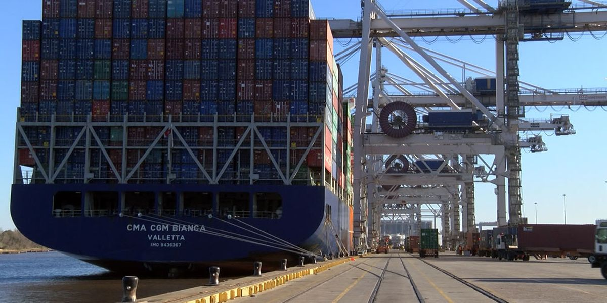Georgia Ports expects low volumes for March