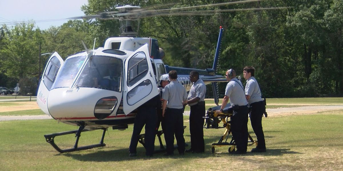 Lee County Public Safety holds helicopter training