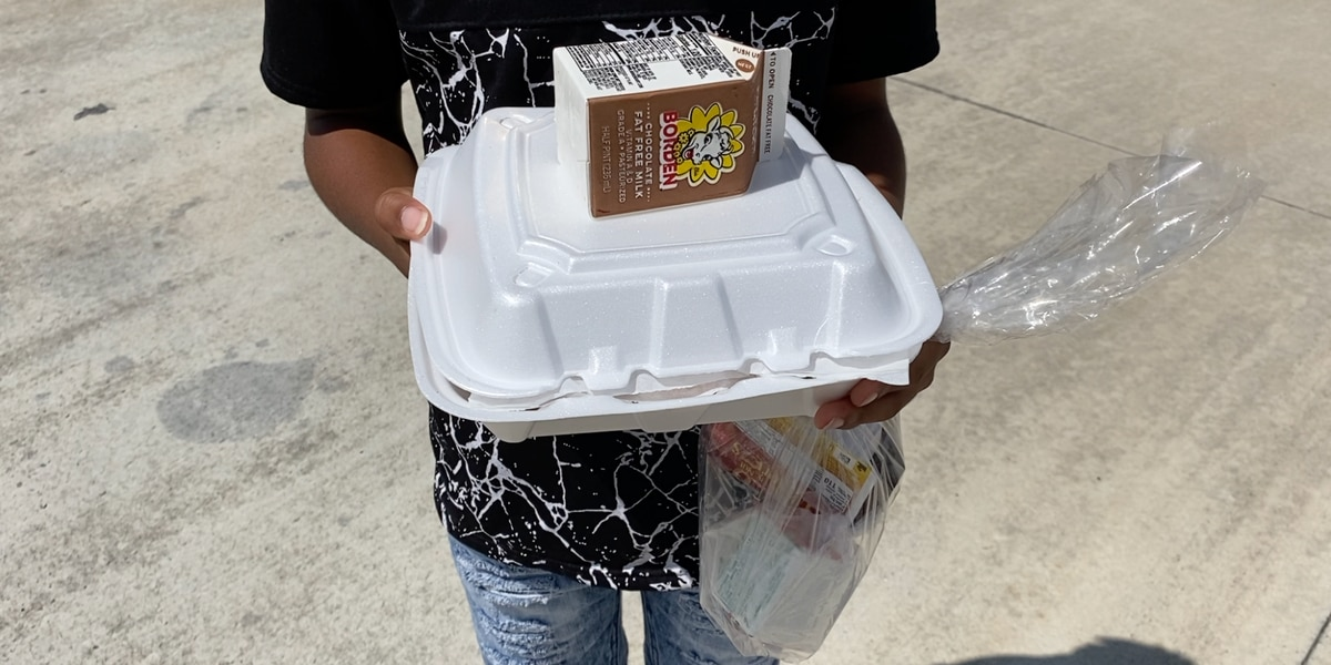 Valdosta City Schools 'Meals on Wheels' program return to the roads
