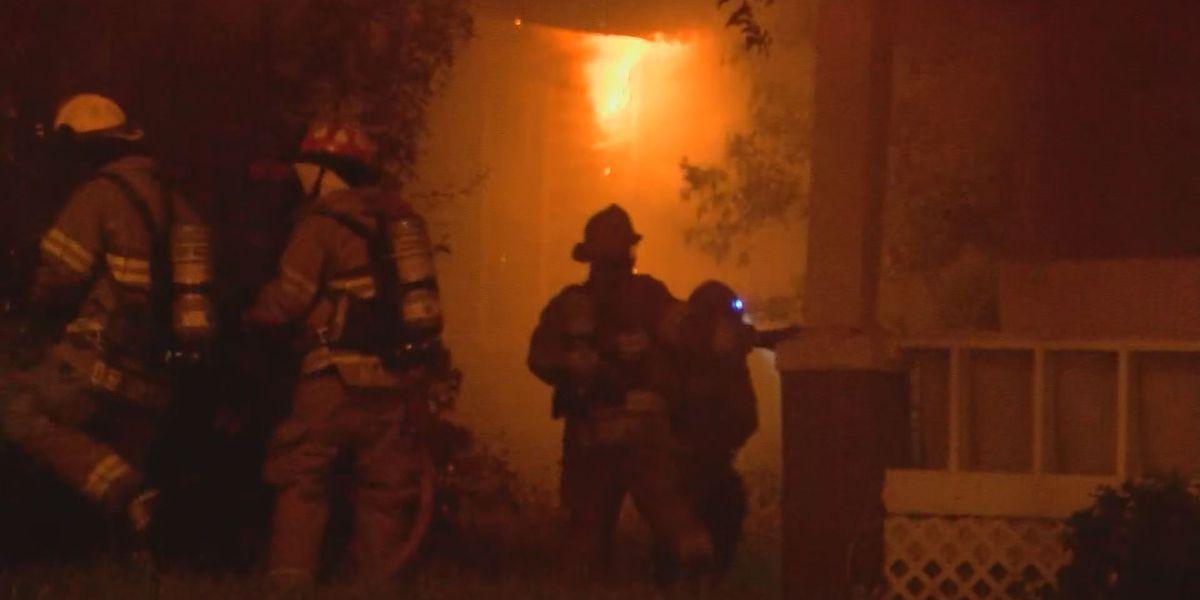 Albany crews respond to house fire