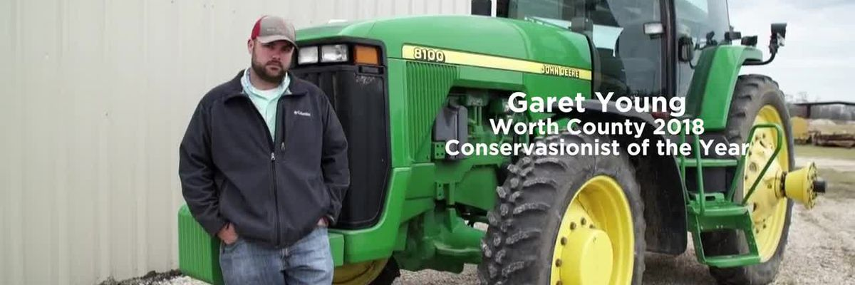Garet Young: Worth Co. 2018 Conservationist of the Year