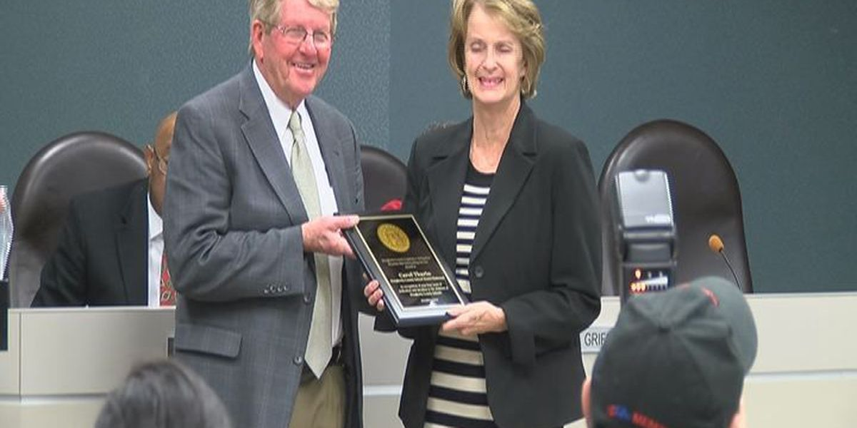 Doughtery Co. chairperson's last board meeting