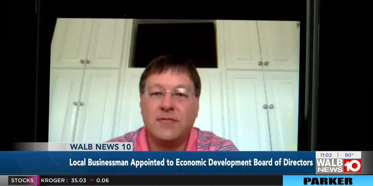 Local businessman appointed to economic development board of directors